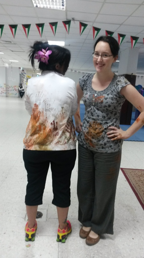 What happens when Susanna gatecrashes my art day!! :)