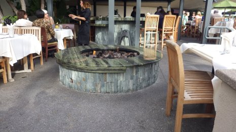 One of many fire pits